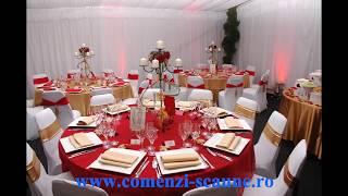 Mese rotunde pentru nunti si diverse evenimente