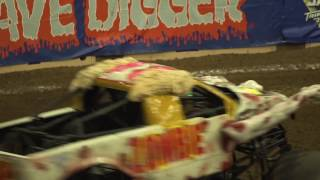 Monster Jam Albuquerque Highlights   Triple Threat Series West presented by AMSOIL   Feb 17 19, 2017