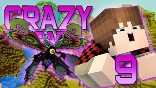 Minecraft: Crazy Craft Modded Survival Playthrough w/Mitch! Ep. 9 - MOTH BOSS BATTLE!