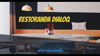 Rus Dili I Restoranda Dialoq I Rus Dili Oyrenmek