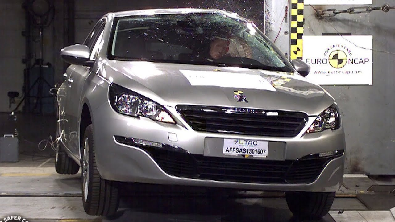 2014 peugeot 308 crash test youtube. Black Bedroom Furniture Sets. Home Design Ideas