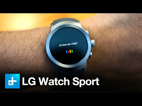 LG Watch Sport Android Wear Smartwatch - Hands On Review