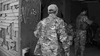 Ролик видео на позициях ДБ ОУН ПЕСКИ донецкая Область война АТО