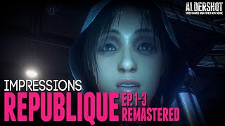 Republique Remastered (PC): Impressions (point and click stealth indie game, gameplay and review)