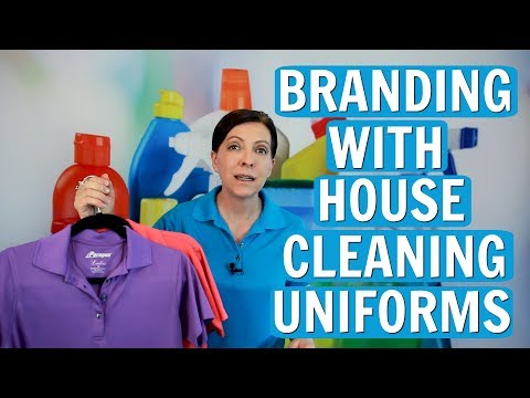 Brand Your Cleaning Business With Your Uniform ⭐⭐⭐⭐⭐