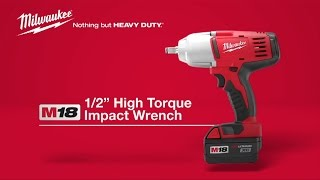 "Milwaukee® M18™ 1/2"" High Torque Impact Wrench 2663-22"
