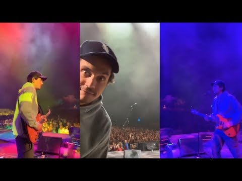 John Mayer On The Stage - Instagram  Stream  20 January 2019