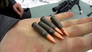 Как стреляют Сайга 223, СКС и Сайга 5.45 на 500 метров?!!!