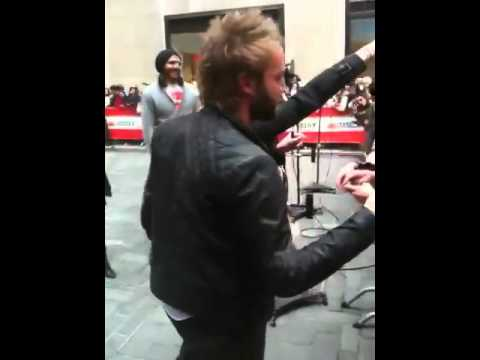 Paul McDonald From American Idol At Today Show