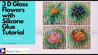 Creating 3 d Flowers for mosaic work