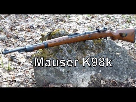 видео: Тест винтовки mauser 98k. Отстрел 5-ю видами патронов