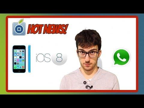iOS 8, iPhone 5c da 8GB, e chiamate gratuite con WhatsApp