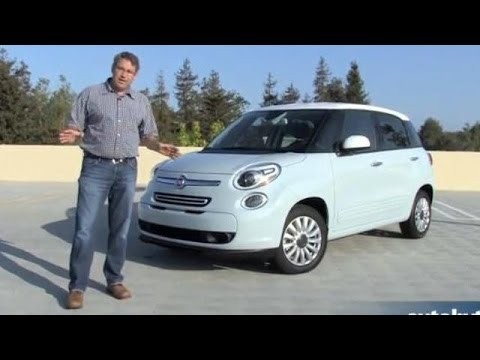 2014 Fiat 500l Test Drive Video Review Youtube