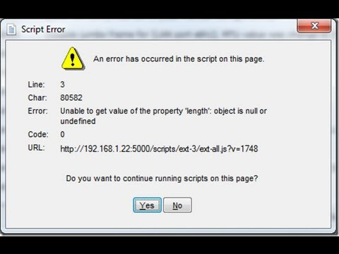 How To Suppress Script Errors (Visual Basic Tabbed Web Browser)