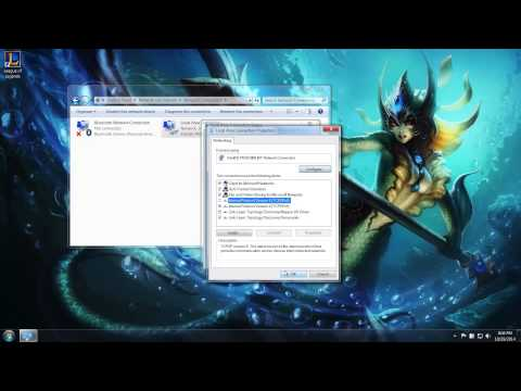 Configuring Internet Protocol - League of Legends Player Support