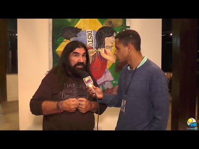 Entrevista com Artista Plástico Fernando Naxcimento