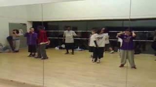 inside the boxx: Simeon Campbell-The dream love vs money part 2 choreo