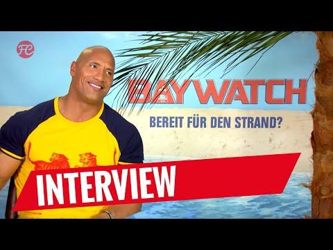 """BAYWATCH   Interview mit Dwayne """"The Rock"""" Johnson"""