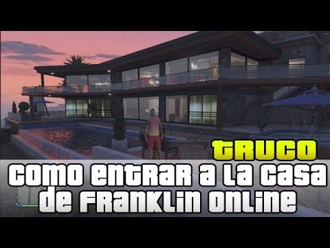 Gta v online como entrar a la casa de franklin zona - La casa de la golosina ...