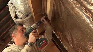 How to insulate your pitched roof with HCONTROL HYBRID
