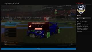 Rocket league been awhile