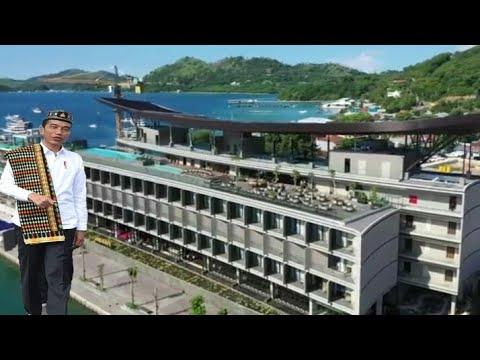 PRESIDEN JOKOWI - RESMIKAN HOTEL MEWAH (INAYA BAY KOMODO) Di LABUAN BAJO