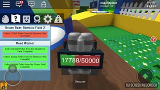 ROBLOX Bee swam simualator/VCL nectar Suction