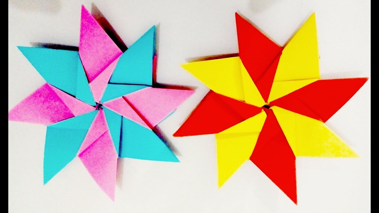 Easy Things To Make Origami Star Mandala Carla By Origami Things How To Make An