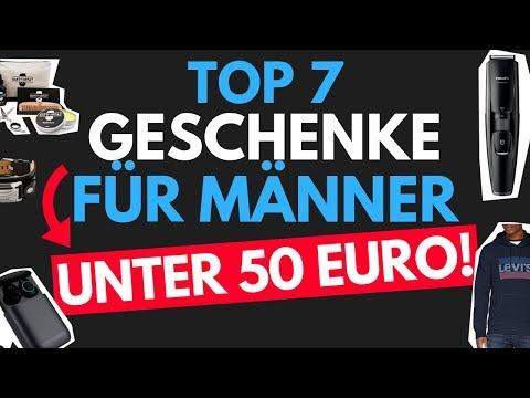 Geschenke für Männer - Weihnachtsgeschenke für Männer für unter 50 Euro - TOP 7 - Geschenke 2018
