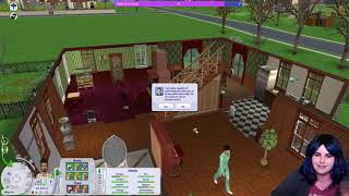 Cassandra Lothario has TWINS!! - Sims 2 Let's Play Pleasantview (Streamed 09/07/2020)