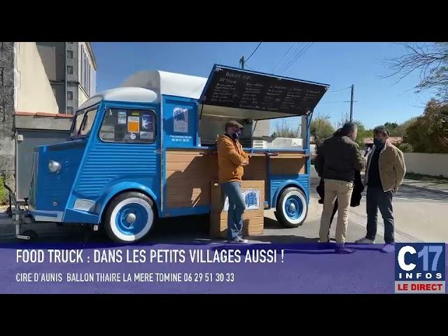 La mère Tomine un food truck dans les petits villages - YouTube