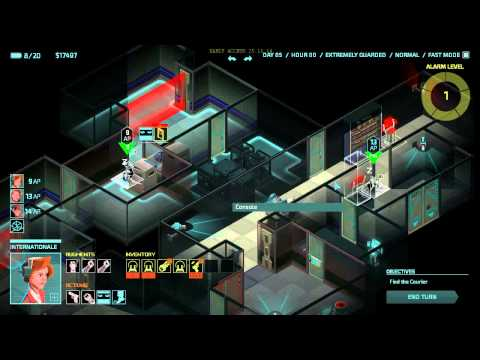 Invisible Inc Story 15 Memory Check (Final Mission)