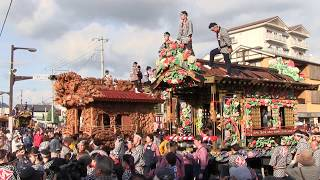 鹿沼 秋祭り 2017 屋台揃い引き 石橋町