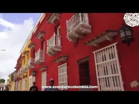 CARTAGENA de Indias Costa Caribe COLOMBIA, Centro Historico y Getsemani