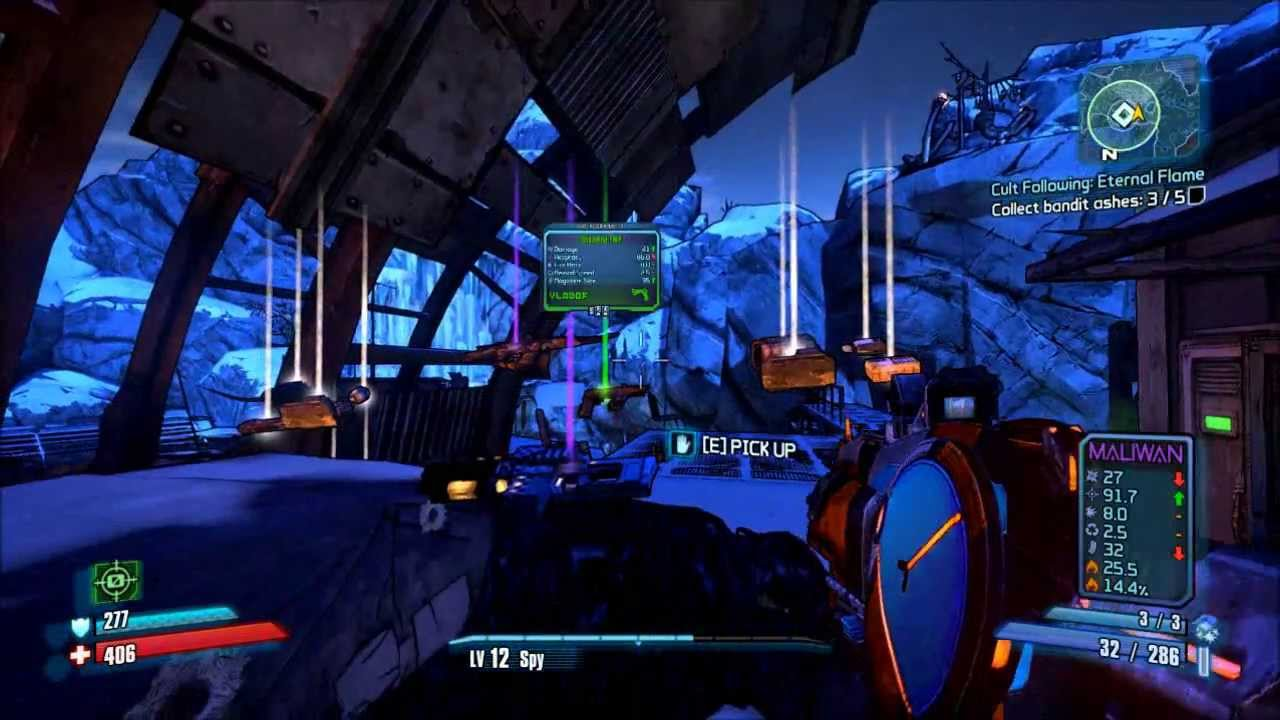 how to get rid of side quest in borderlands 2