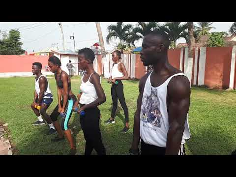 Work out with Ghana's Next Supper Model at Cosmopolitan Wellness and Fitness Center