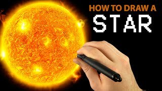 How to Draw a STAR with Corel Painter [Draw This #18]