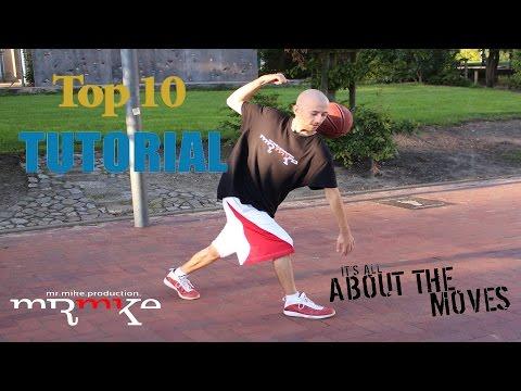 "Top10 Streetball - Basketball - Tricks & Moves ""TUTORIALS"""