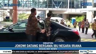 Jokowi dan Iriana Jenguk Ani Yudhoyono