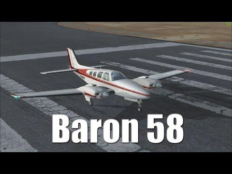 FSX Tutorial: Beechcraft Baron 58