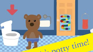 Potty Training Game Part 1 - best app demos for kids - Philip