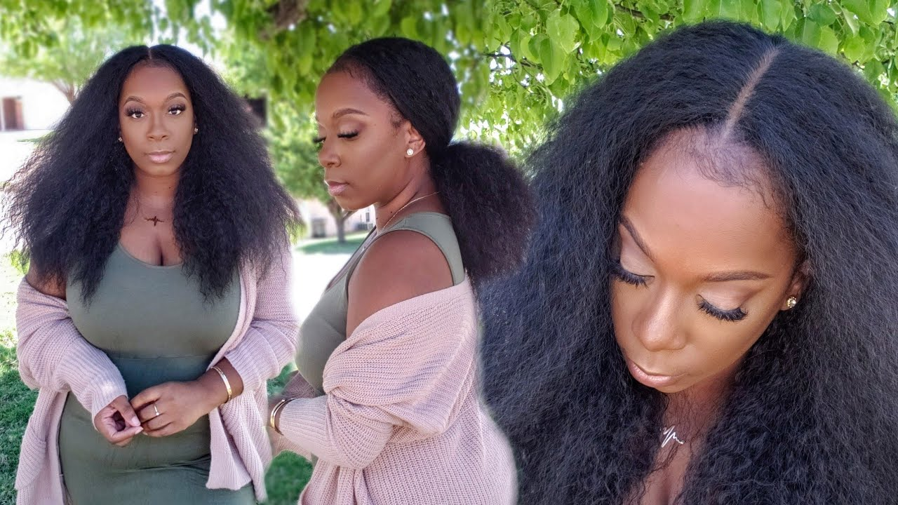 WHOA 😱 Fast, Long Natural Hair Growth Under $30 😳 Outre Solstice Synthetic Natural Hair Wig