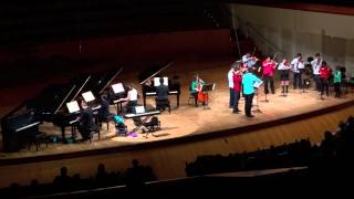 CONCIERTO PARA 4 PIANOS J S BACH 1º Movimiento