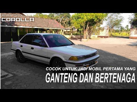 Review Toyota Corolla Twincam 1.6 SE Limited 1990 dan Test Drive - CarVlog Indonesia - CarVlog#22