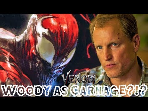 Woody Harrelson CONFIRMED to Play Carnage in The Venom Movie?!?