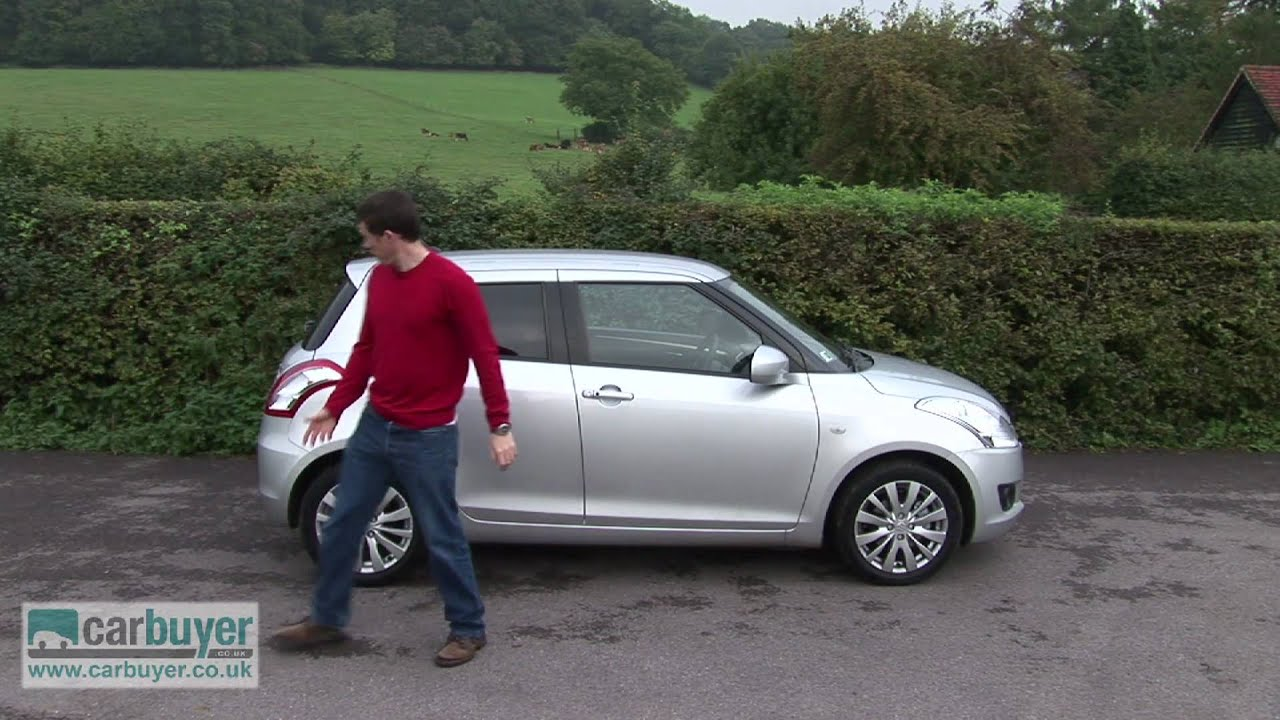 suzuki swift hatchback review carbuyer youtube. Black Bedroom Furniture Sets. Home Design Ideas