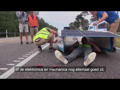 Belgian Solar car reaches top speed of 120 km/hr. Solar Story 11.