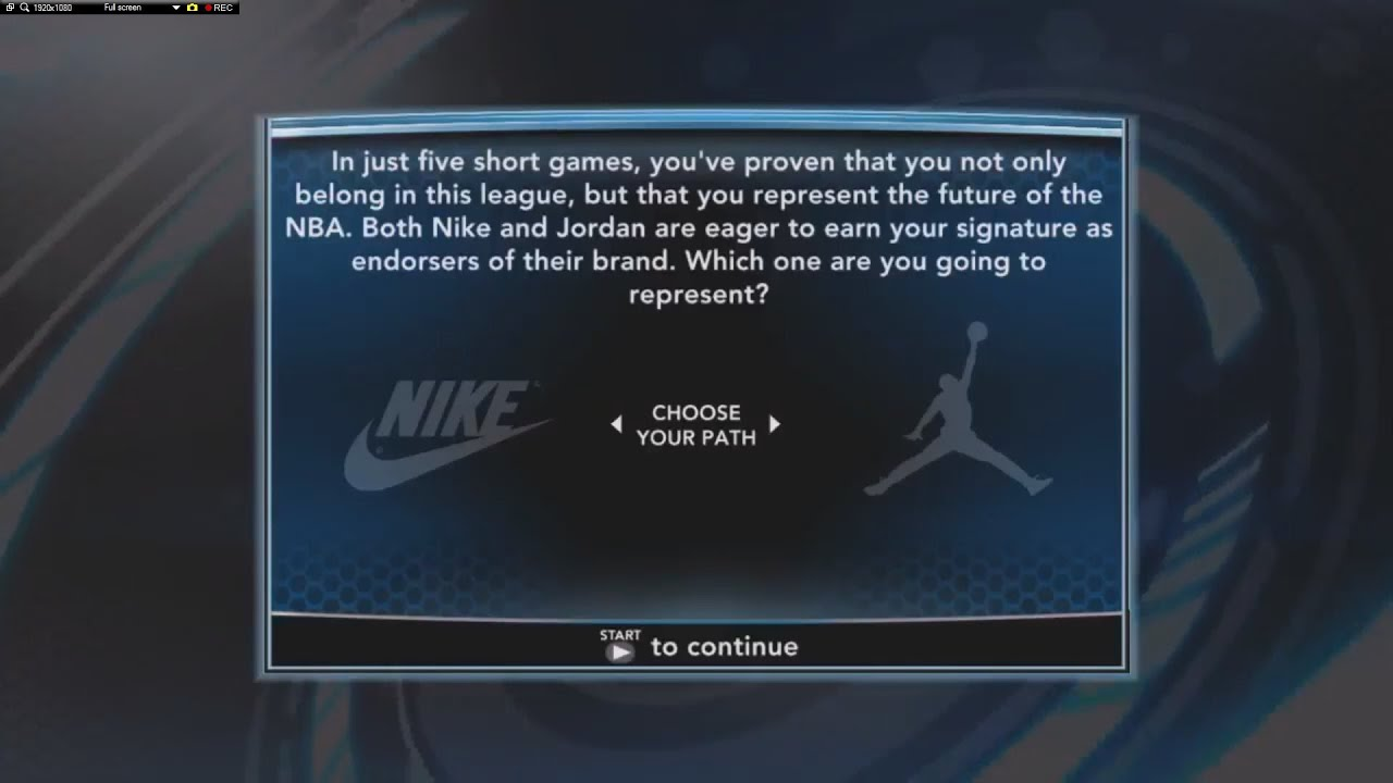 NBA 2K14 PC My Career Ep 7 Nike or Jordan ?