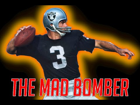 """the Mad Bomber"" Daryle Lamonica - Oakland Raiders"