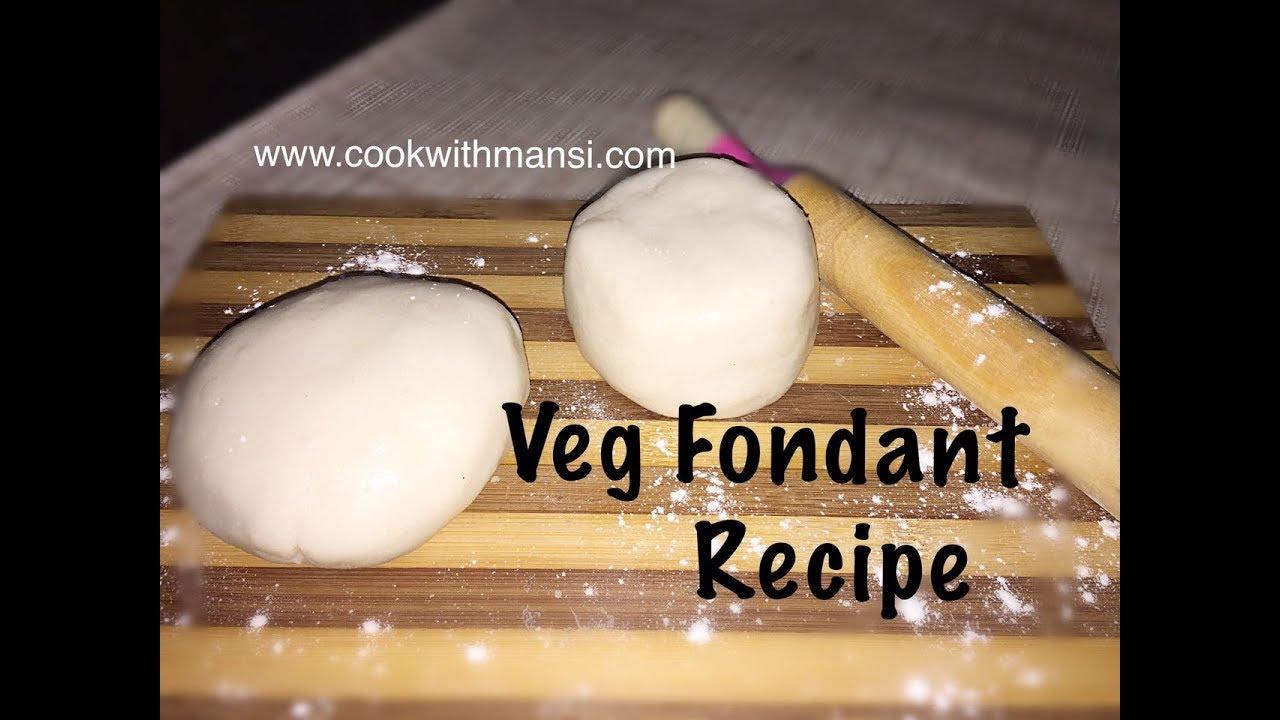 How do you make fondant recipe